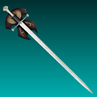 LOTR Anduril Sword Papercraft