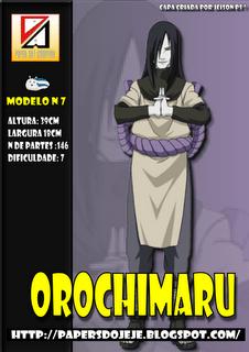 Naruto - Orochimaru Papercraft