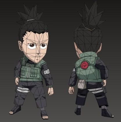 Shikamaru chibi