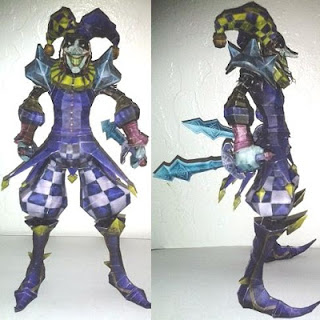 League of Legends Shaco Papercraft