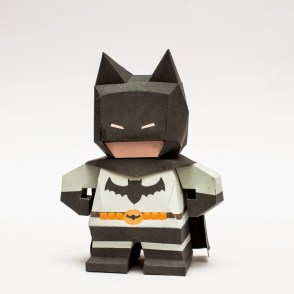 Chibi Batman Papercraft