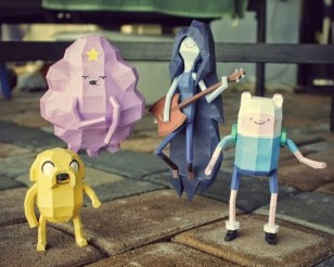 Papercraft-Adventure-Time-Characters
