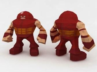 SD Juggernaut Papercraft
