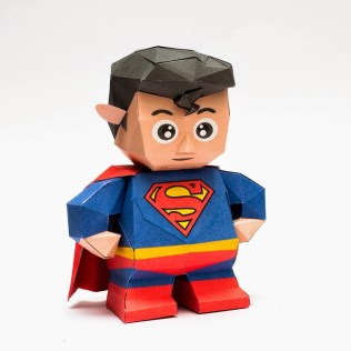 Chibi Superman Papercraft