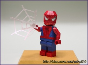 Free download - Lego Spiderman Papercraft