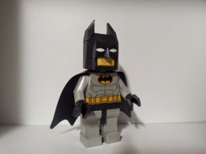 Lego Batman paper craft simple version