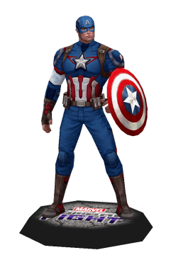 Marvel Captain America Papercraft