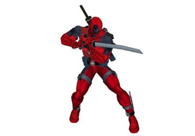 Marvel-Comics-Deadpool-Papercraft