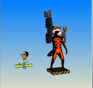 Rocket y Baby Groot
