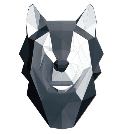 Lobo Papercraft