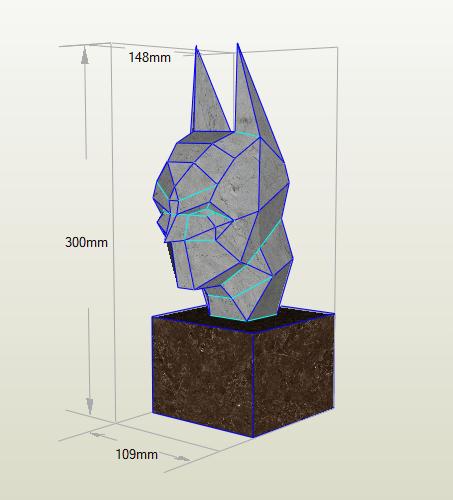Batman papercraft