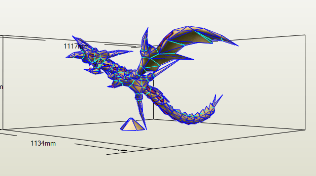 Curse of Dragon papercraft