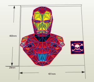 Iron-Man papercraft