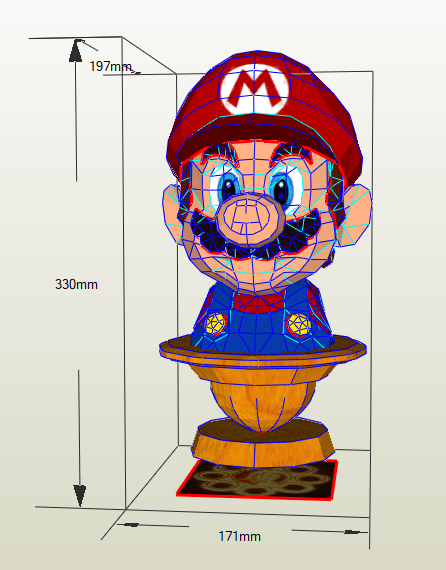 Busto Mario Bros