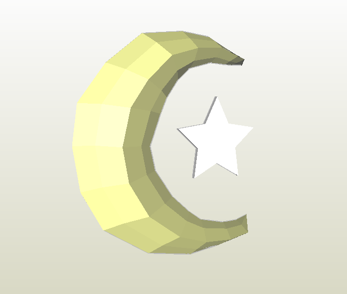 Luna LowPoly