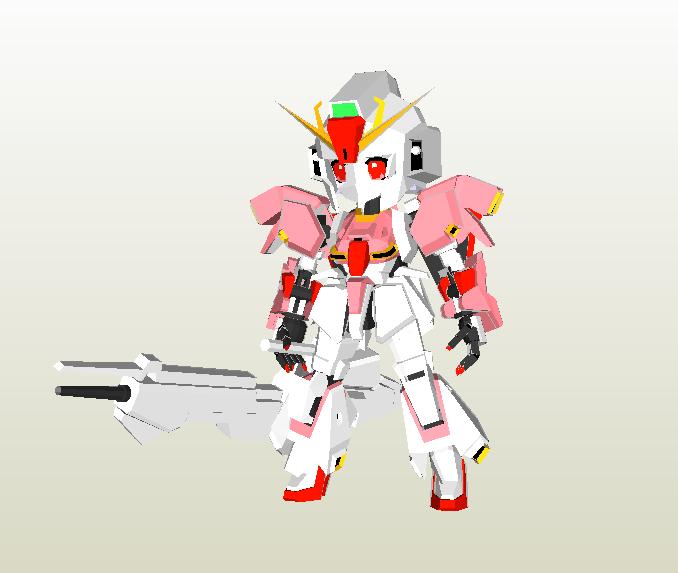 SD Zeta Gundam Tan