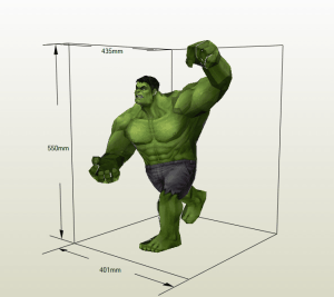 Hulk Papercraft