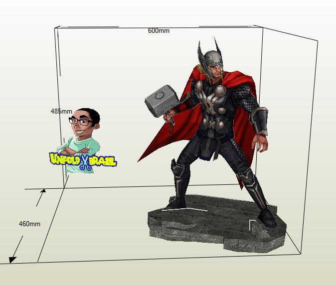 Thor papercraft
