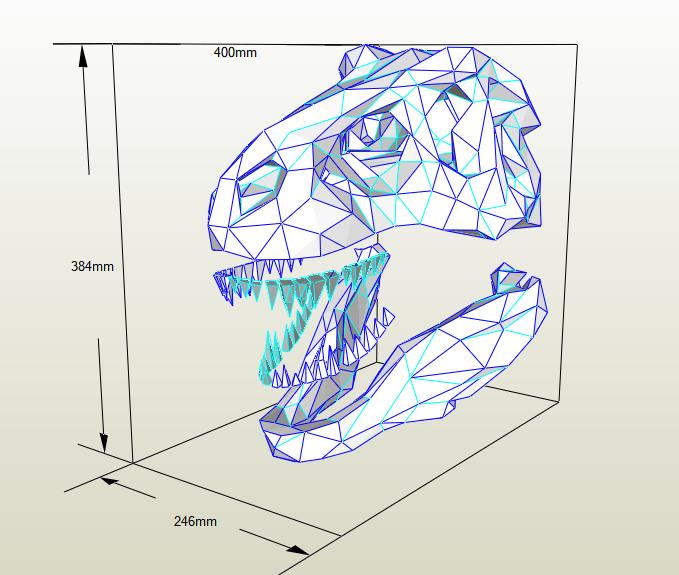 Cráneo T-Rex