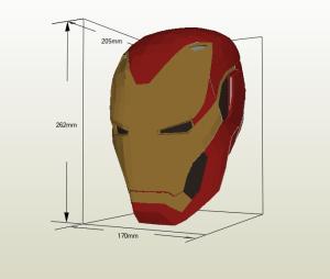 Iron Man mark 48 papercraft