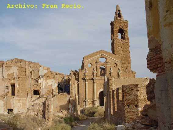 pueblos malditos españoles - Belchite