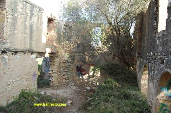 El Castillo Dentro de las ruinas