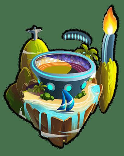 Isla Juegos Dragon City