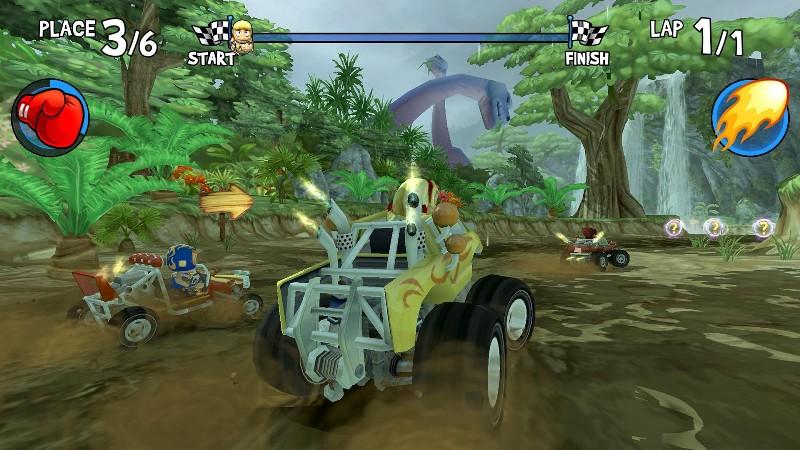 Beach Buggy Racing APK MOD imagen 2