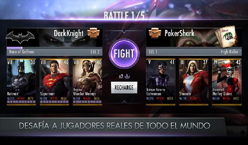 Injustice Gods Among Us APK MOD imagen 5