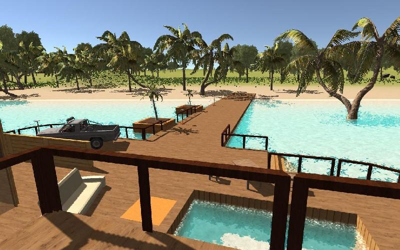 Ocean Is Home Survival Island APK MOD imagen 2