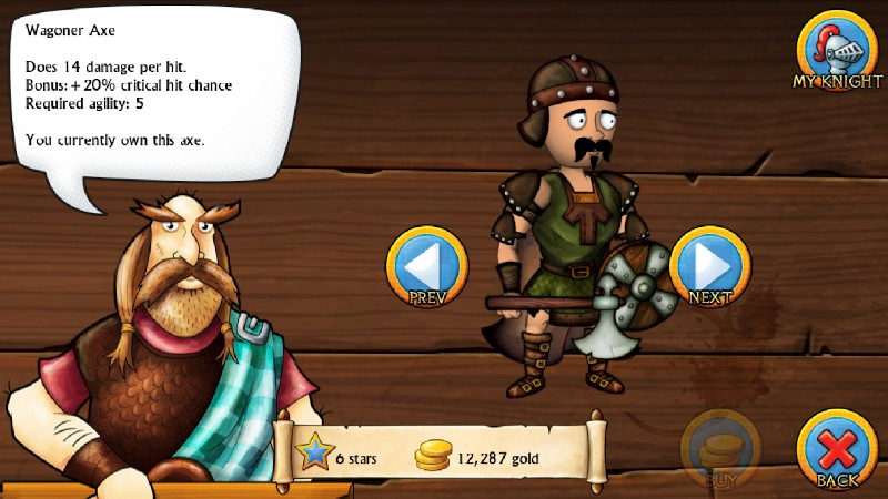 Swords and Sandals Medieval APK MOD imagen 3