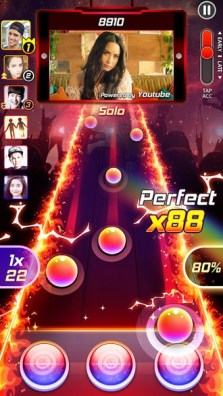 Tap Tap Reborn 2 Popular Songs Rhythm Game APK MOD imagen 1