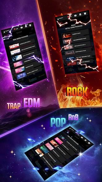 Tap Tap Reborn 2 Popular Songs Rhythm Game APK MOD imagen 4