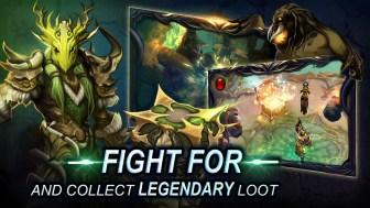 Bladebound hack and slash RPG APK MOD imagen 4