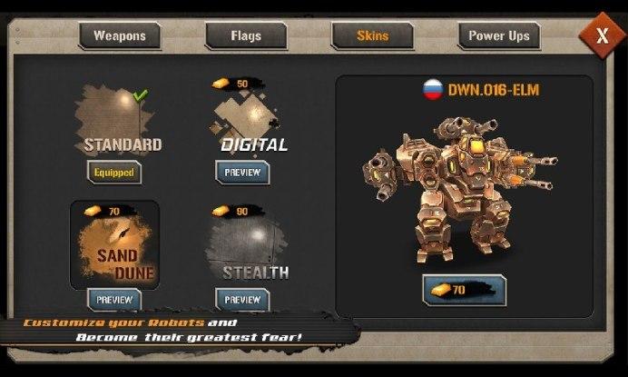 Mech Legion Age of Robots APK MOD imagen 5