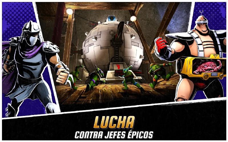 Ninja Turtles Legends APK MOD imagen 2