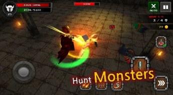 Pixel F Blade - 3D Fantasy rpg APK MOD imagen 2