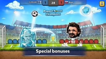 Puppet Soccer Champions APK MOD imagen 2