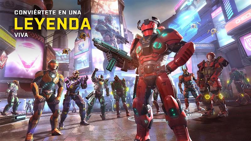 Shadowgun Legends APK MOD imagen 2