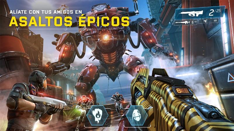 Shadowgun Legends APK MOD imagen 3