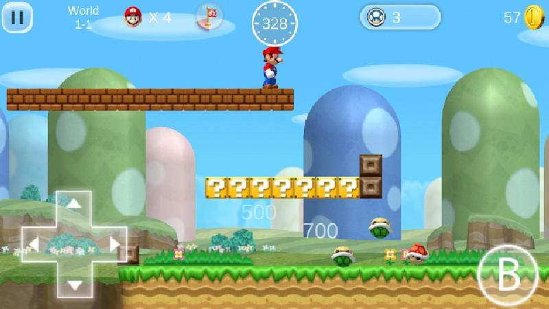 Super Mario 2 HD APK MOD imagen 2