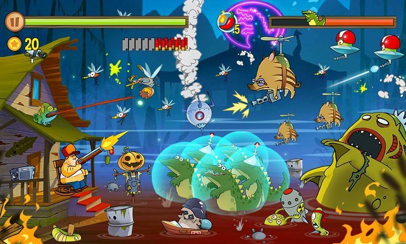 Swamp Attack APK MOD imagen 4