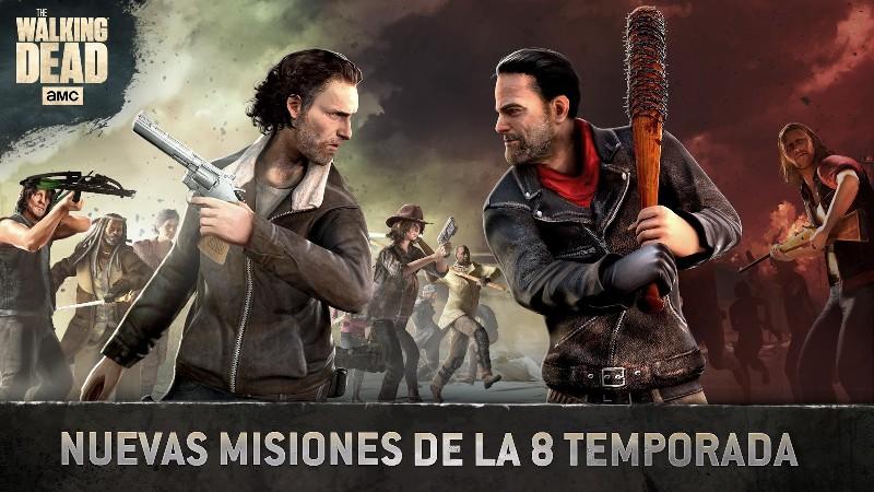 The Walking Dead No Man's Land APK MOD imagen 1