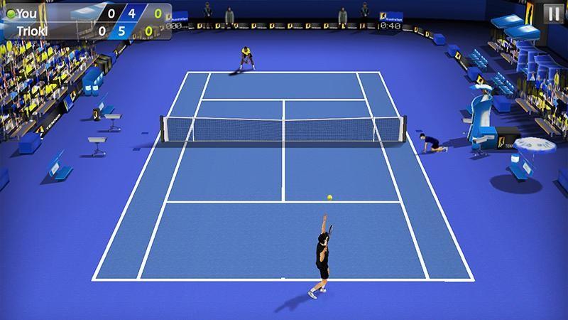 3D Tennis APK MOD imagen 1