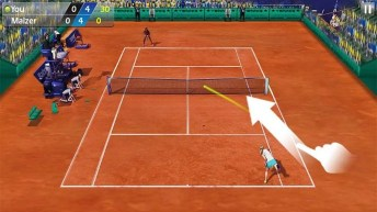3D Tennis APK MOD imagen 3
