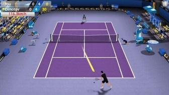 3D Tennis APK MOD imagen 4