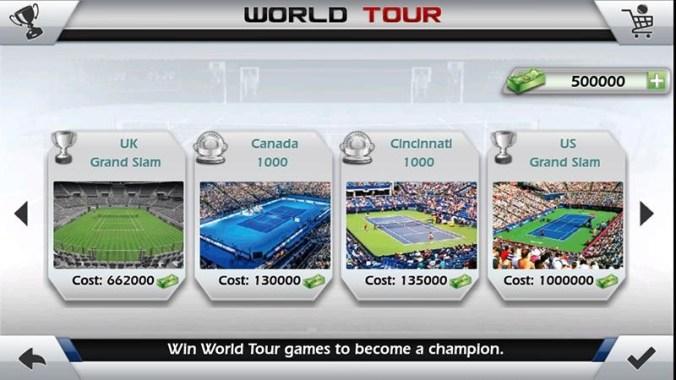 3D Tennis APK MOD imagen 5