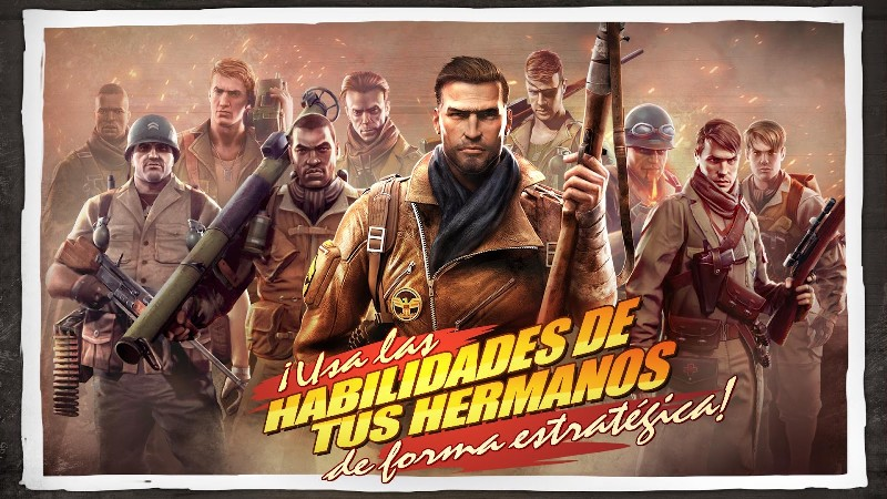 Brothers in Arms 3 APK MOD imagen 2