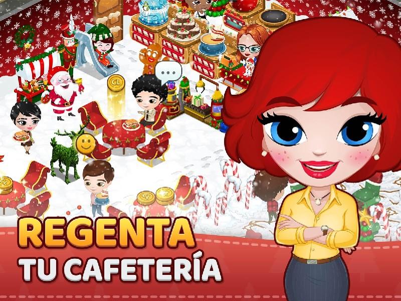 Cafeland Juego de Restaurante APK MOD imagen 1