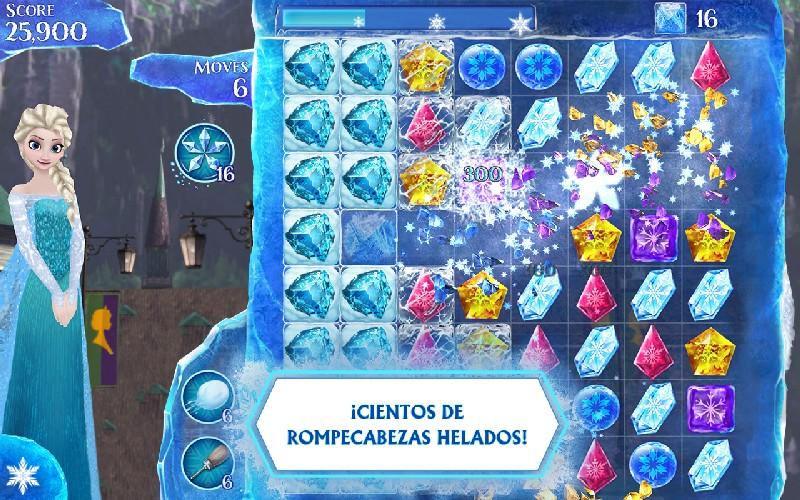 Frozen Free Fall APK MOD imagen 1